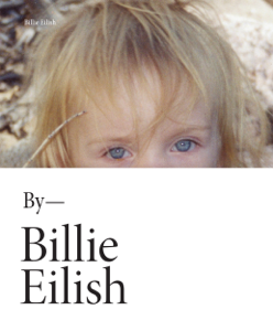 Billie Eilish Book Cover