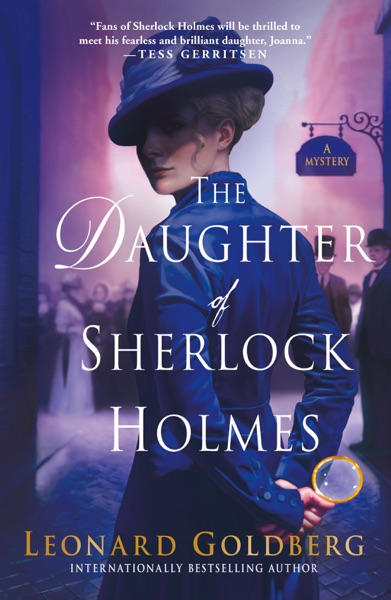 The Daughter of Sherlock Holmes - Leonard Goldberg book cover