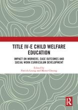 Title IV-E Child Welfare Education