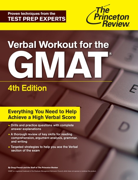 Verbal Workout for the GMAT, 4th Edition