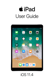 iPad User Guide for iOS 11.4 book