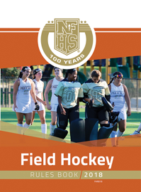 2018 NFHS Field Hockey Rules Book book