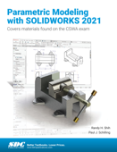 Parametric Modeling with SOLIDWORKS 2021 Book Cover