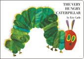 The Very Hungry Caterpillar Book Cover