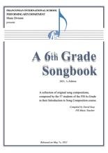 A 6th Grade Songbook