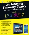 Les Tablettes Samsung Galaxy Pour Les Nuls