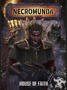 Necromunda: House Of Faith Boekomslag