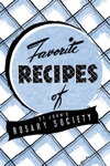 Favorite Recipes Of St Johns Rosary Society