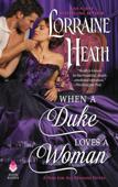 When a Duke Loves a Woman Book Cover