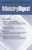 Ministry Digest, Vol. 03, No. 07 Book Cover