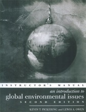 An Introduction To Global Environmental Issues Instructors Manual