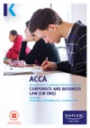 ACCA - Corporate And Business Law  Global LW  GLO