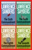 The Commandment Series Complete By Lawrence Sanders. The Sixth Commandment, The Tenth Commandment, The Eighth Commandment,  Seventh Commandment.