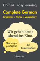 Collins Dictionaries - Easy Learning German Complete Grammar, Verbs and Vocabulary (3 books in 1) artwork
