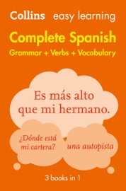 Easy Learning Spanish Complete Grammar Verbs And Vocabulary 3 Books In 1
