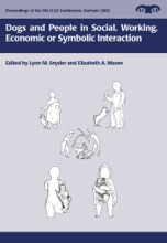 Dogs And People In Social, Working, Economic Or Symbolic Interaction