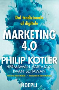 Marketing 4.0 Copertina del libro