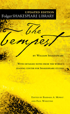 The Tempest - William Shakespeare book
