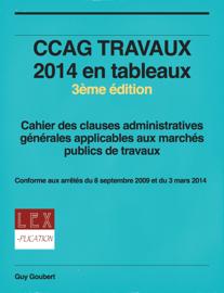 CCAG TRAVAUX 2014 en tableaux