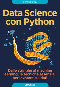 Data Science con Python Copertina del libro