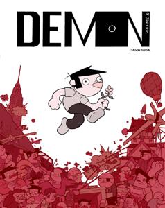 Demon, Volume 3 Copertina del libro