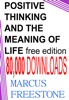 Marcus Freestone - Positive Thinking & The Meaning of Life artwork