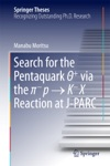 Search For The Pentaquark  Via The -p  K-X Reaction At J-PARC