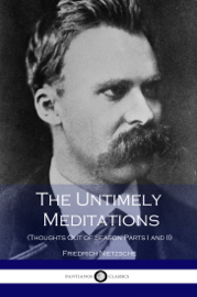 The Untimely Meditations book