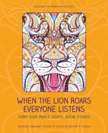 WHEN THE LION ROARS EVERYONE LISTENS
