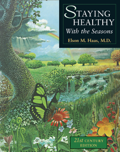 Staying Healthy with the Seasons Copertina del libro