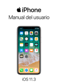 Manual del usuario del iPhone para iOS 11.3