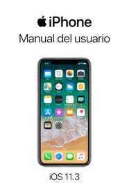 Manual del usuario del iPhone para iOS 11.3 book