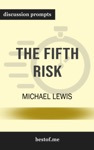 The Fifth Risk By Michael Lewis