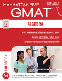 GMAT Algebra Strategy Guide book