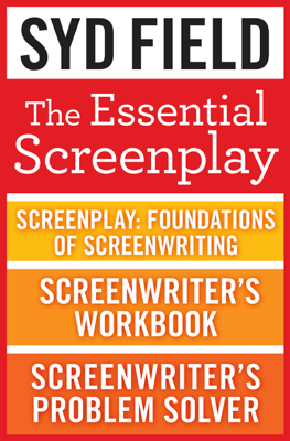 The Essential Screenplay (3-Book Bundle) - Syd Field book