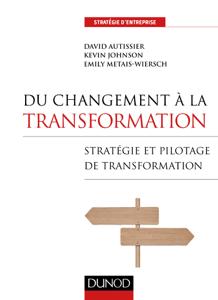 Du changement à la transformation La couverture du livre martien