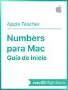 Gua De Inicio De Numbers Para Mac