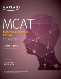 MCAT Behavioral Sciences Review 2019-2020 book