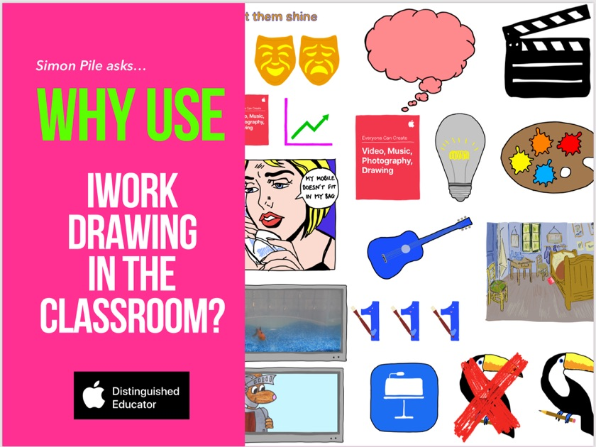 Why Use Iwork Drawing In The Classroom By Simon Pile On