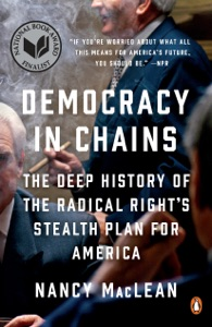 Democracy in Chains by Nancy MacLean Book Cover