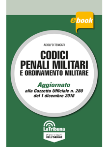 Codici penali militari e ordinamento militare Libro Cover
