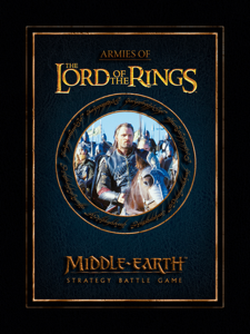 Armies of the Lord of the Rings Enhanced Edition La couverture du livre martien
