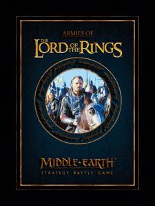 Armies of the Lord of the Rings Enhanced Edition La couverture du livre martien