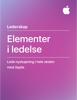 Elementer i ledelse - Apple Education