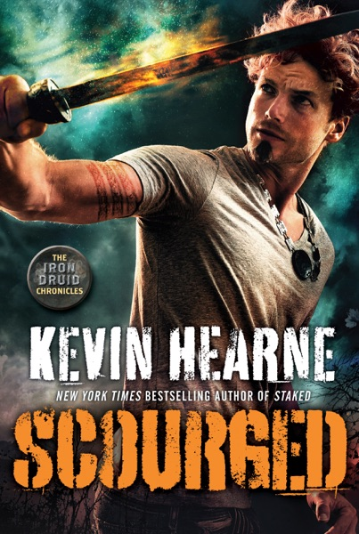 Scourged - Kevin Hearne book cover