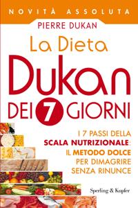 La Dieta Dukan dei 7 giorni Copertina del libro