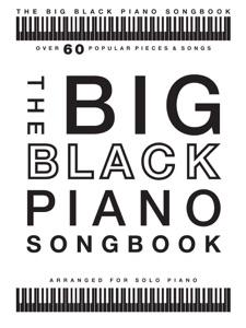 The Big Black Piano Songbook Book Cover