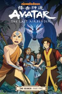 Avatar: The Last Airbender - The Search Part 2 Copertina del libro