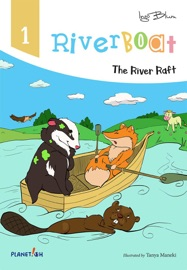 Riverboat The River Raft Picture Book