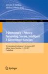 E-Democracy  Privacy-Preserving Secure Intelligent E-Government Services